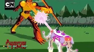 War Elephant vs. Darren | Adventure Time | Cartoon Network