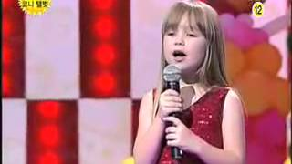 Connie Talbot- I will always love you LIVE!