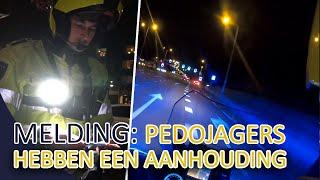 Politie  Melding: Pedojagers hebben een aanhouding | Melding: Lunetten man valt vrouwen lastig