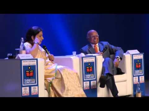 The New Indian Express' ThinkEdu 2016 Inaugural Session by Smriti Irani