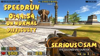 Serious Sam: The Second Encounter - SpeedRun - 0:44:54 (Normal Difficulty)