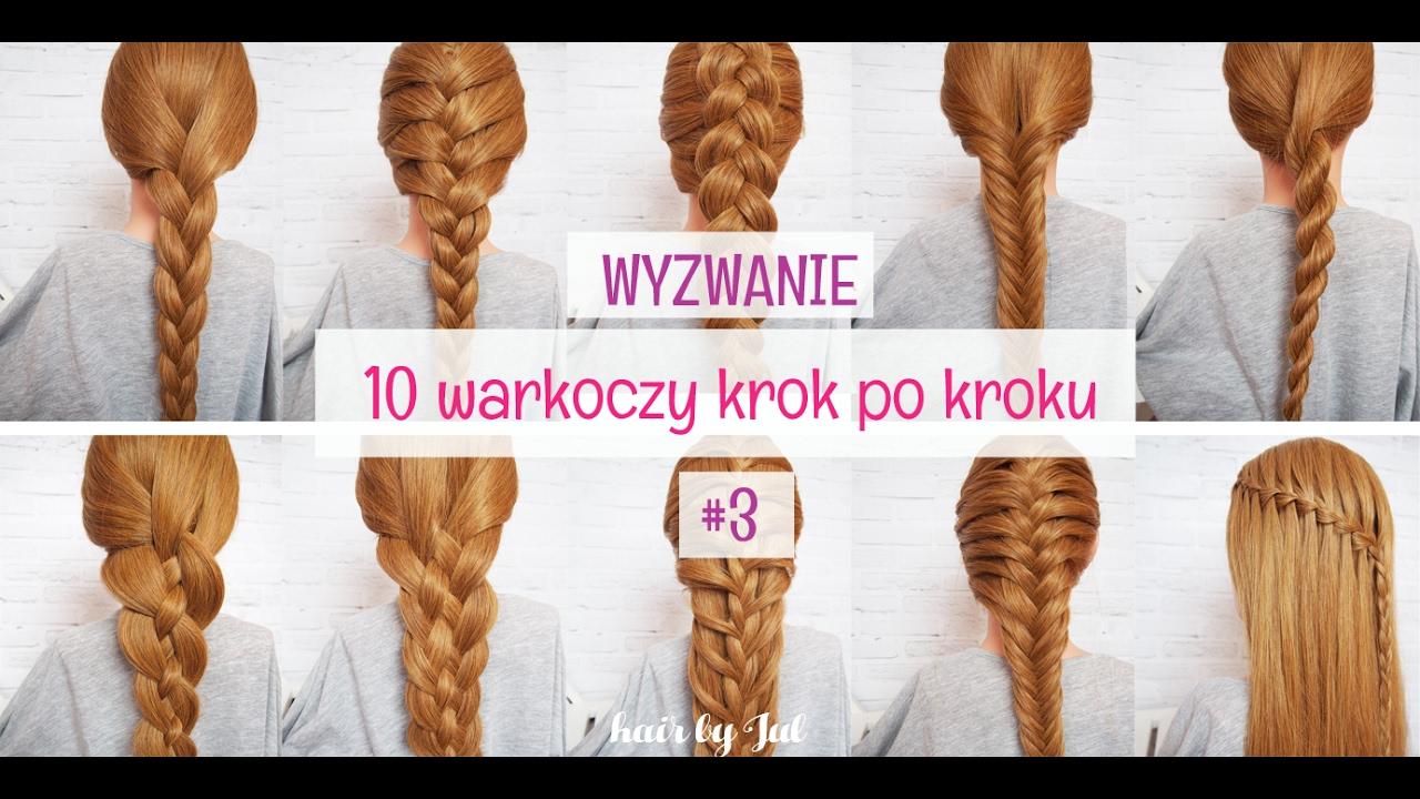 Warkocz Holenderski Wyzwanie 10 Warkoczy Kork Po Kroku Hair By Jul