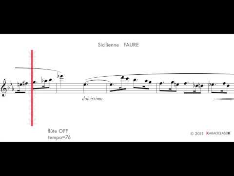 Sicilienne FAURE t76 flute OFF