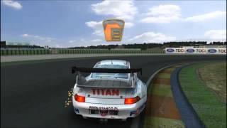 FIA GT Racing Game(GTR2)   Praticando com o Porsche 911 GT2(993)