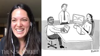 A New Yorker Cartoonist Explains How to Draw the Office | The New Yorker