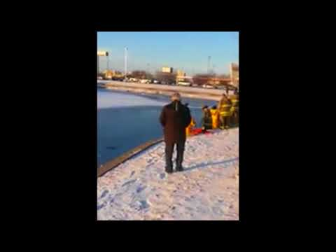 Man Falls Through Ice And Drowns Champlain IL