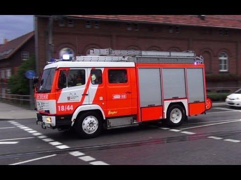 LF 16/12 Feuerwehr Erfurt-Frienstedt - YouTube