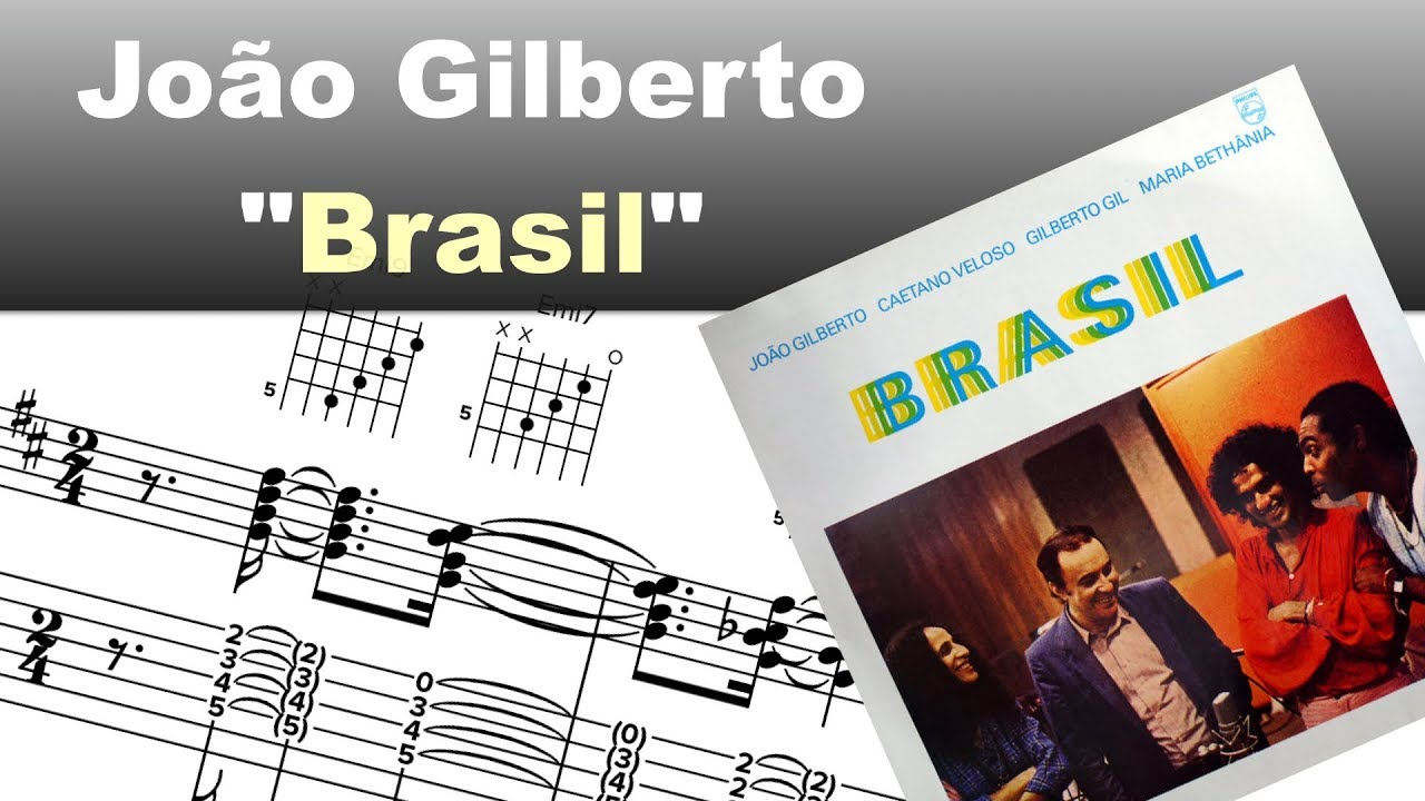 Joao Gilberto Aquarela Do Brasil Virtual Guitar