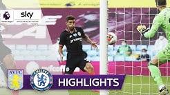Chelsea dreht Rückstand binnen 2 Minuten! Aston Villa - FC Chelsea 1:2 | Highlights - Premier League