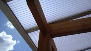 Home Inspector Seatttle Show Added Patio Cover Is Very Well Built | (425) 207-3688 | Call Us!