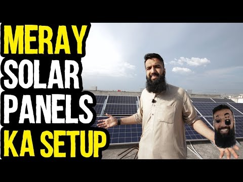 Merah 10 Lakh Ka Solar Panels Setup in Pakistan | How to SetUp Solar Panels | Urdu Hindi Punjabi