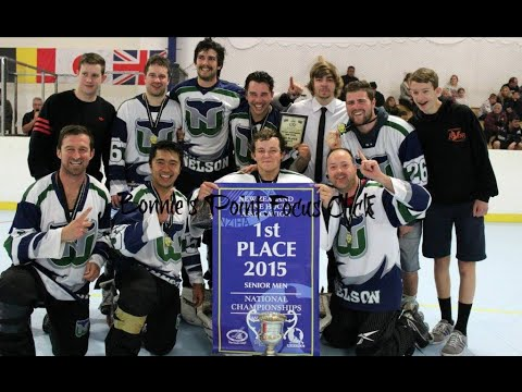 New Zealand Inline Hockey Champs 2015 SNR Mens
