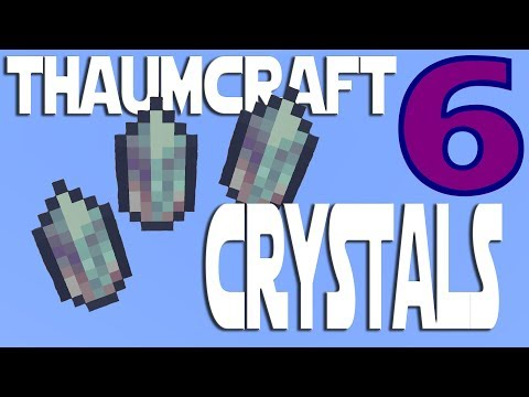 Lets Play Minecraft Thaumcraft 6 ep 7 - Making Essentia