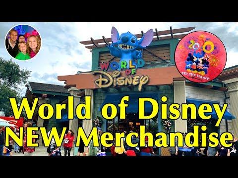 NEW World of Disney - Disney Springs - FULL Shop Tour & New 2020 Walt Disney World Merchandise