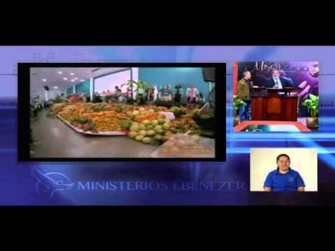 Apostol : Sergio Enriquez  Tema: Frente al año de la abundancia #1 Servicio