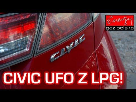 CIVIC UFO Z LPG! Honda Civic 1.8 140KM 2007r w Energy Gaz Polska na auto gaz BRC SQ 32 OBD