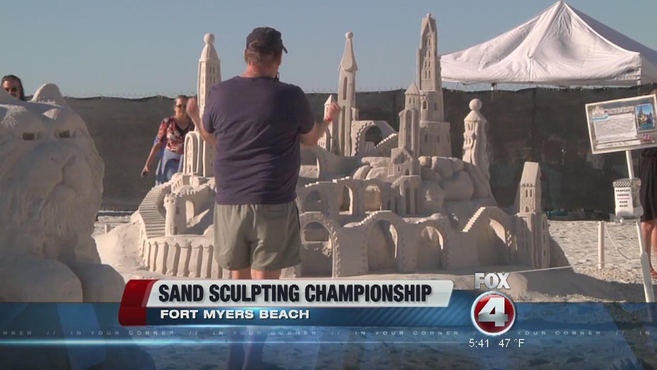 Fort Myers Beach Sandcastle Display
