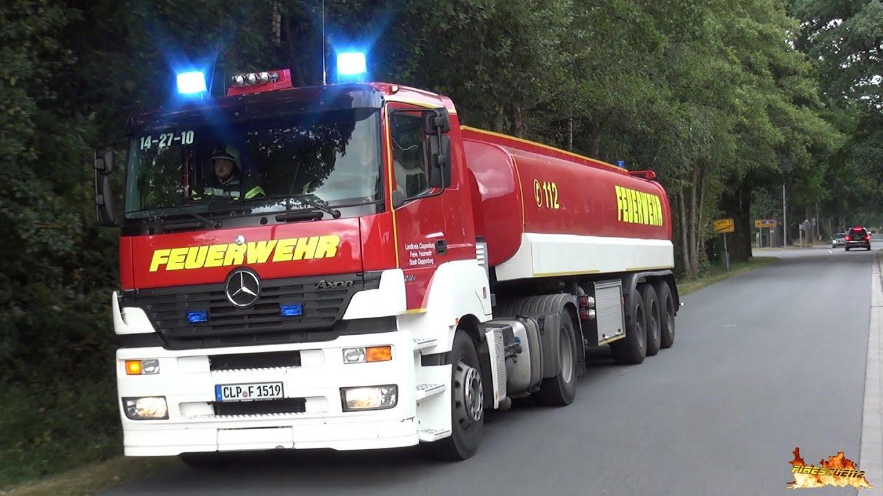 Download [GTLF 30.000 zu Großeinsatz] Wachausfahrt Feuerwehr Lastrup + Anfahrten FW LK Cloppenburg + RD