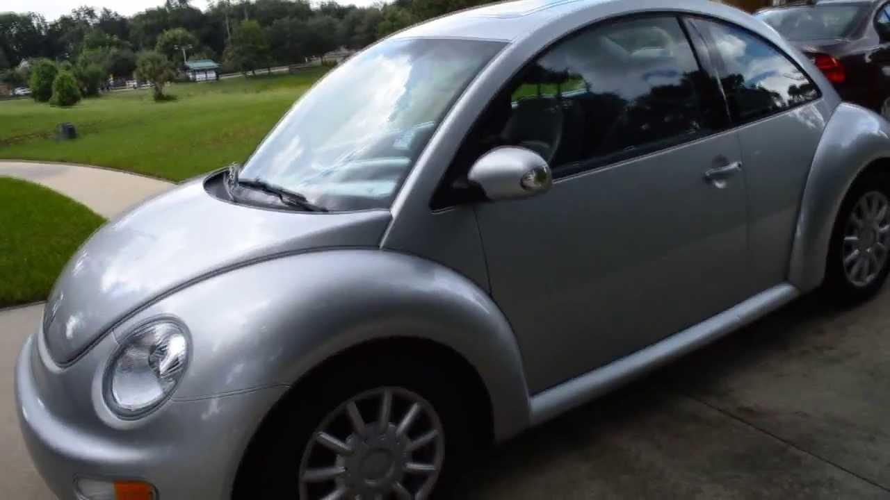 volkswagen beetle gls silver youtube