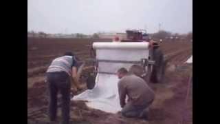 видео: победы Жукова на поле агроволокно укладка