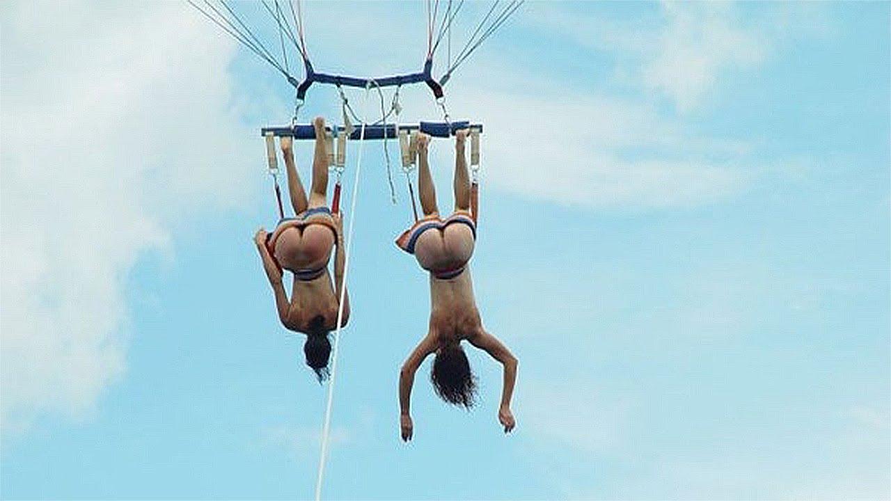 фотографии голых девушек парашютистов говоря