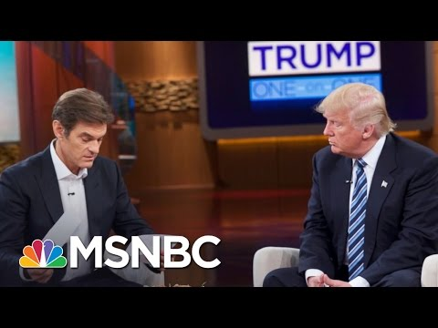 What Health Info Donald Trump Shared With Dr. Oz   MSNBC
