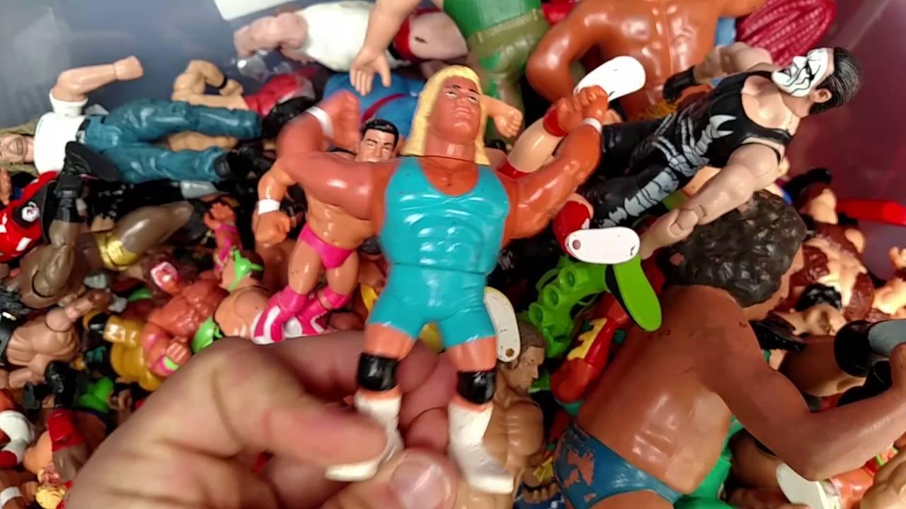 Vintage Wwf Wcw Ecw Awa Wwe Wrestling Toys 80s 90s Youtube