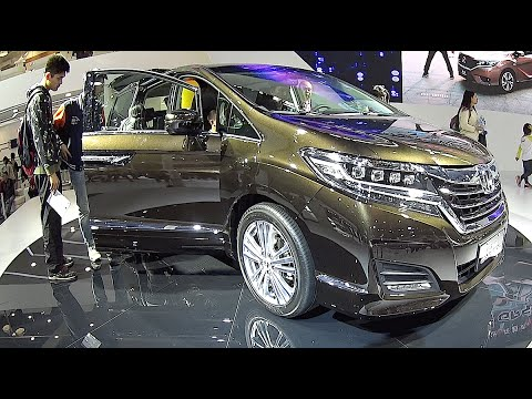Honda Elysion 2016, 2017 Concept video review, interior ...