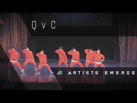 [PEOPLE'S CHOICE AWARD] QvC | ADULT ALL-STARS   |  Artists Emerge 2018