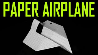 How To Make A World Record Paper Airplane Glider
