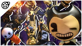 Every Bendy Character in a Nutshell Source Filmmaker Animation (feat. SpringEngineer)