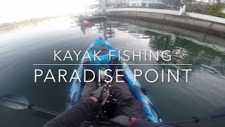 Flathead and Bream. Kayak Fishing Paradise Point on Dragon Kay…