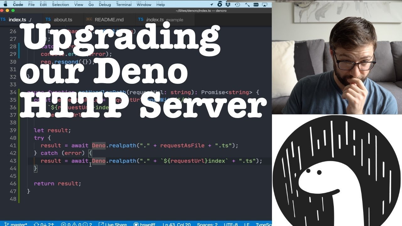 Upgrading our Deno HTTP Server