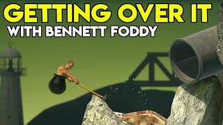 Getting Over It~ Funny game play~Road to 106K Subs(10-08-2019)