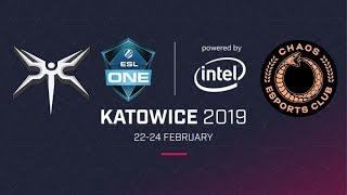 Live: MINESKI VS CHAOS | ESL One Katowice | Lower Bracket Playoff Round | B03