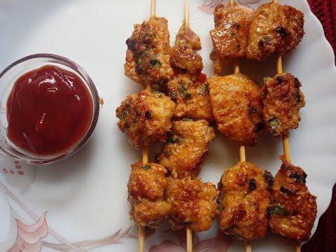 Sesame Chicken Kebab | Minakshi's Kitchen