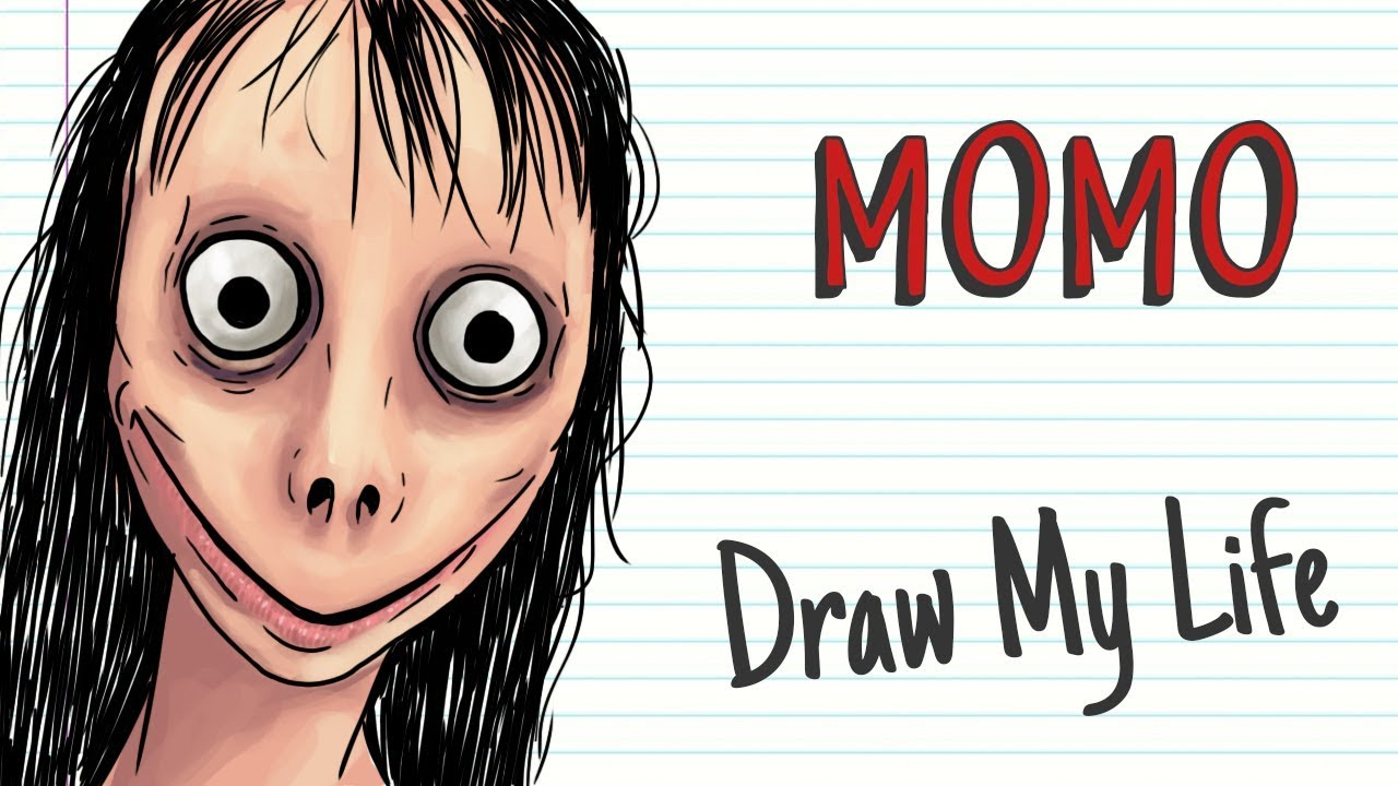 MOMO   Draw My Life DO NOT CALL THIS HAUNTED NUMBER - YouTube