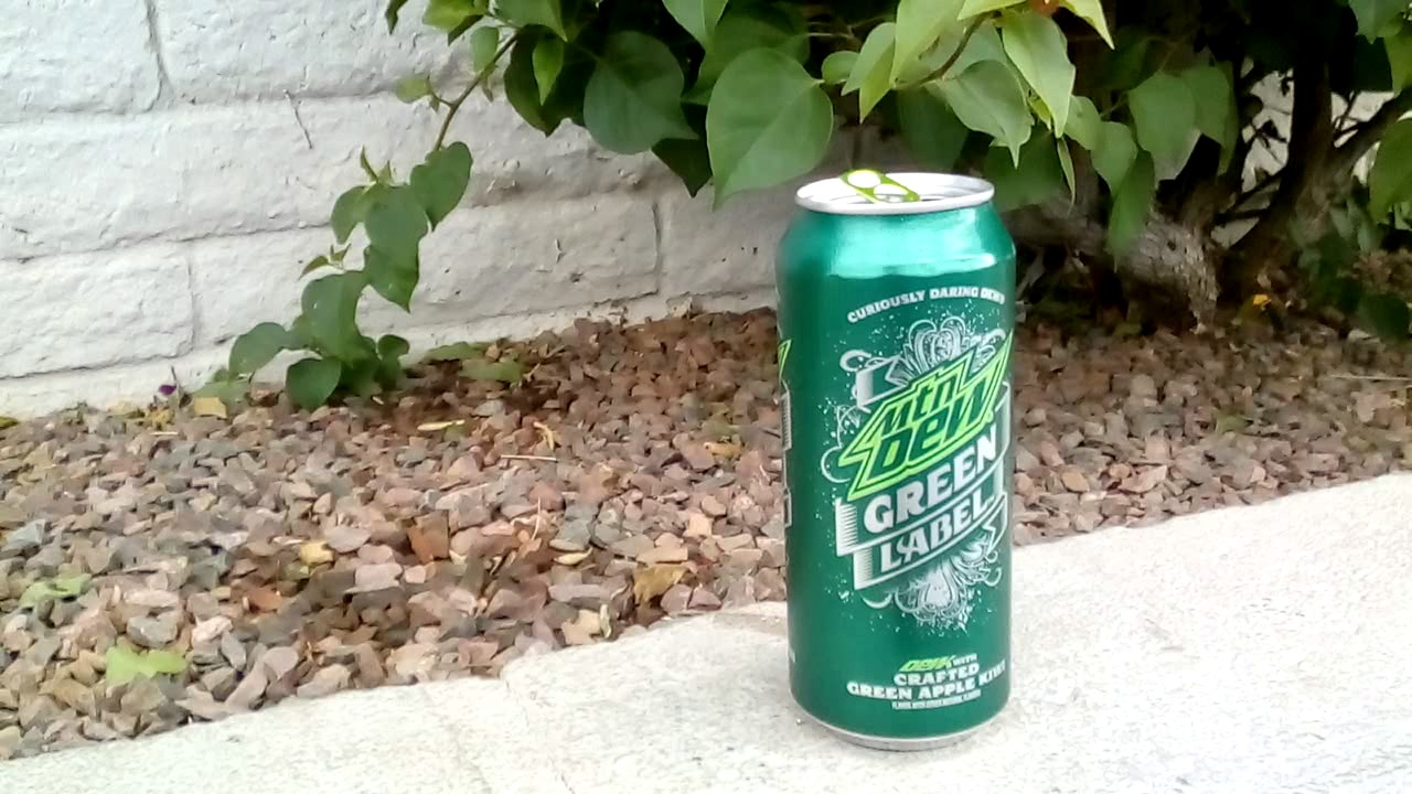 mountain dew green label crafted green apple youtube