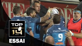TOP 14 ‐ Essai 2 David SMITH (CAS) – Castres - Paris – J21 – Saison 2016/2017