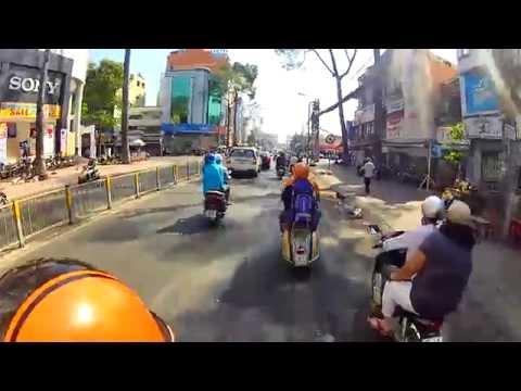 Vietnam Vespas Ride