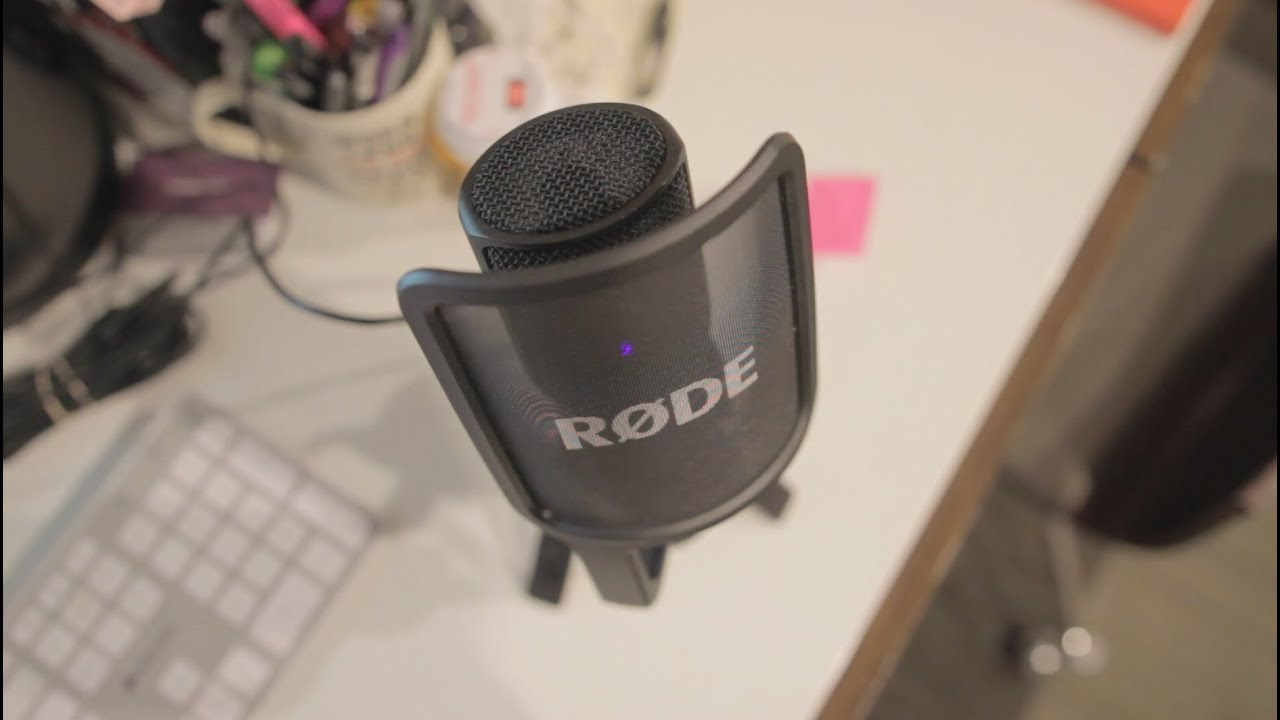 the best usb microphone on a budget r de nt usb mic youtube