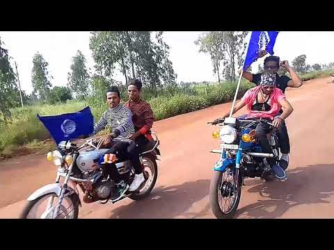 JAi JAi JAi JAi bheem song! bike rally Bidar (kmt)to rekulgi mount. from Jai bheem boys.