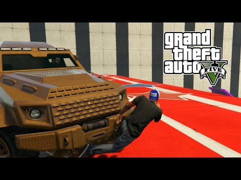 GTA 5 Online PC | Trucks and Rainbow Ramps | WHALE HUNTING