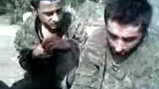 Пленные грузинские оккупанты