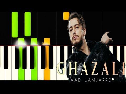 جديد سعد لمجرد غزالي على البيانو (Saad Lamjarrad - Ghazali - (cover piano