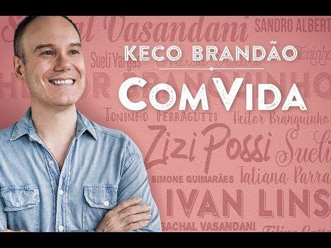 """DVD """"KECO BRANDÃO COM VIDA"""" (Completo)(Depoimentos e Clipes)"""