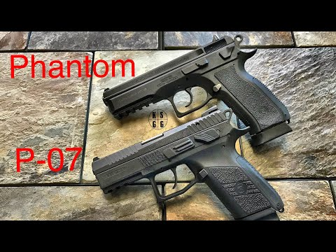 CZ SP-01 Phantom vs CZ P-07  --  If I Could Only Have One....