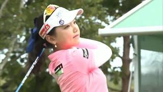 golf swing セキユウティン Yuting Seki 石昱婷 スマイル(^^)超簡単1日1回上達への近道!!3 セキユウティン 検索動画 16