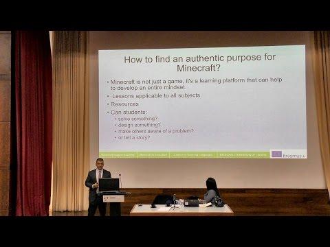 Transforming Education Minecraft in Education European University Cyprus