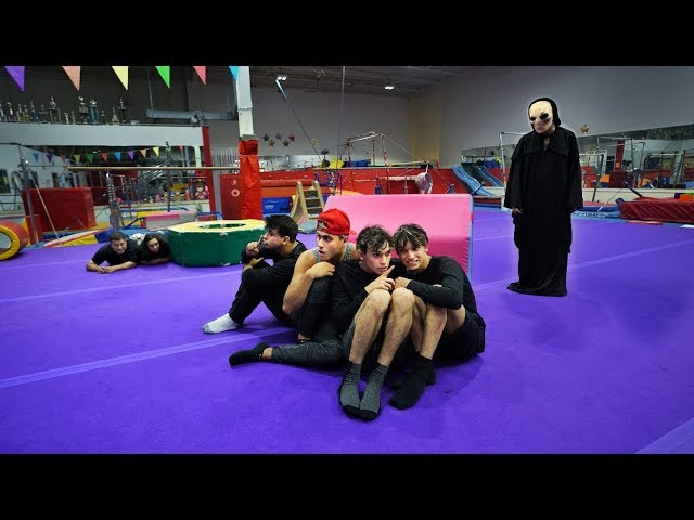 SCARY MONSTER BREAKS IN DURING GYMNASTICS AT 3AM!
